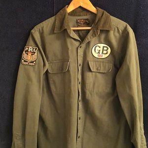 Ralph Lauren Army green jacket for men
